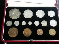 GREAT BRITAIN 1937 SPECIMEN SET. INCLUDES MAUNDY COINS   443
