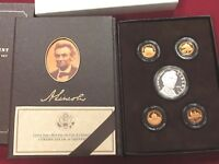 2009 US MINT LINCOLN COIN & CHRONICLES SET  PROOF 5 COIN BOX & COA