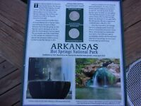 STATE QUARTER ARKANSAS HOT SPRINGS NATIONAL PARK AMERICA THE BEAUTIFUL COLLECT.