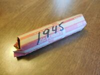 1945 LINCOLN WHEAT PENNY ROLL