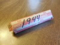 1944 LINCOLN WHEAT PENNY ROLL