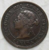 CANADA 1888 LARGE CENT OLD DATE QUEEN VICTORIA