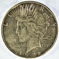 1922-D COLLECTIBLE SILVER PEACE DOLLAR B13.7