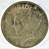 1922-D COLLECTIBLE SILVER PEACE DOLLAR B13.9