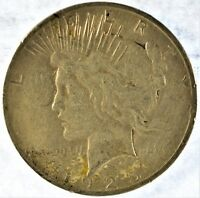 1925-S COLLECTIBLE SILVER PEACE DOLLAR B13.29
