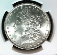 1897 VAM 8 NGC MINT STATE 64 MORGAN SILVER DOLLARGENE L HENRY LEGACY COLLECTION