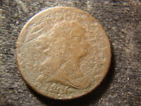 1806 DRAPED BUST HALF CENT  DECENT COIN GXG
