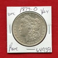 1879 O BU UNC MORGAN SILVER DOLLAR 64939 MS COIN US MINT  KEY DATE ESTATE