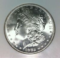 1882-S MORGAN SILVER DOLLAR - NGC MINT STATE 67