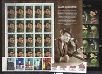 $100 FACE VALUE US STAMPS ALL MNH