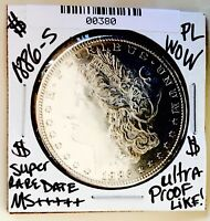 1886 S MORGAN MS       ULTRA PROOF LIKE  SO  DATE  AWESOME M