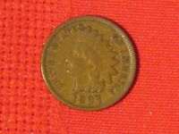1897  INDIAN HEAD CENT -   EXAMPLE.