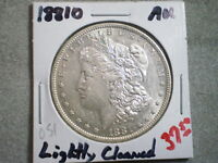 1881-O MORGAN SILVER DOLLAR/ COOL COIN/ LIGHT CLEANING-- HOLIDAY SPECIAL