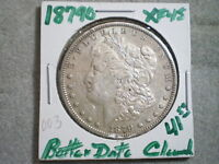 1879-O MORGAN SILVER DOLLAR/ BEST BUY/ CLEANING--MERRY CHRISTMAS