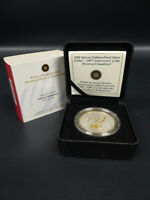 2009 CANADA 100TH ANN MONTREAL CANADIENS STERLING SILVER DOLLAR