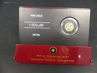 2006 CANADA 1 DOLLAR FINE GOLD COIN GOLD LOUIS