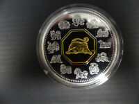 2004 CANADA 15 DOLLARS STERLING SILVER LUNAR COIN MONKEY