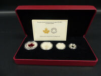 2015 CANADA FINE SILVER MAPLE LEAF COIN SET