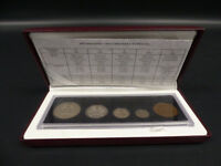 1908 1998 CANADA 90TH ANN STERLING SILVER COIN SET