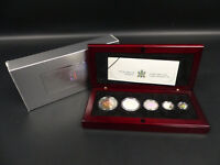 2003 CANADA FINE SILVER HOLOGRAM MAPLE LEAF SET COIN