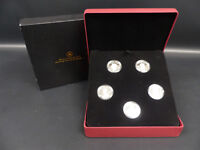 2008 09 CANADA 15 DOLLARS STERLING SILVER COIN ROYALTY SET