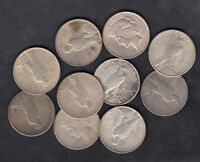 1922 26 USA PEACE SILVER DOLLARS LOT OF 10