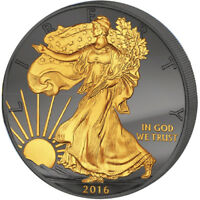 UNITED STATES 2016 1$ WALKING LIBERTY 30 YEARS EAGLE BU SILV