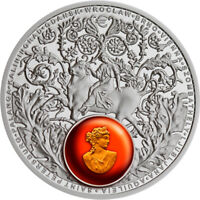 NIUE 2016 1$ AMBER ROAD 2016 EUROPE PROOF SILVER COIN