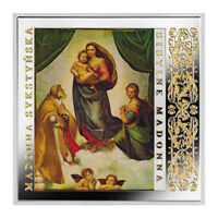 NIUE 2016 1$ SISTINE MADONNA MASTERPIECES OF THE RENAISSANCE