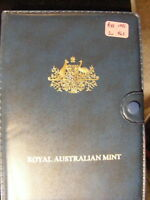 AUSTRALIA 1986 PROOF SET COPPERS ARE STILL FULL RED ALL ARE