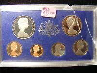 AUSTRALIA 1983 PROOF SET COPPERS ARE STILL FULL RED AND REST