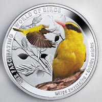 NIUE 2016 1$ GOLDEN ORIOLETHE FASCINATING WORLD OF BIRDS PRO