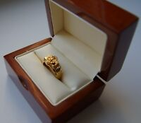 WWII GERMAN SS POLICE GOLD RING 3RD REICH GERMANY