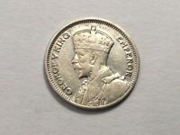 NEW ZEALAND 1936 SIX PENCE COIN VERY NICE CONDITION