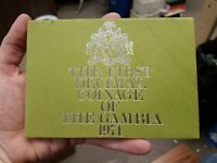 1971 GAMBIA FIRST DECIMAL COINAGE PROOF SET