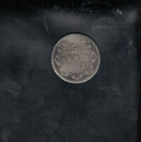 1873 NEWFOUNDLAND SILVER 5 CENTS