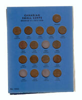 1920 67 CANADA 1 CENT COIN COLLECTION OF 50