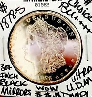 1878 S MORGAN CHOICE BU     BEST ULTRA DMPL EVER  30 INCH BL