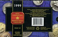 CANADA   1999 PROOF SET ALL SILVER COINS EXCEPT THE DOLLAR A