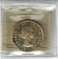 1961 PROOFLIKE SILVER DOLLAR  ICCS PL 65 CAMEO