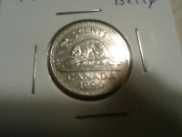 1990 CANADA 5 CENT NICKEL LARGE BARE BELLY