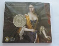 2014 ROYAL MINT DEATH OF QUEEN ANNE 5 UNCIRCULATED COIN SEALED PACK