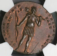 1794 NGC UNC SPENCE & INDIAN 1/2 PENNY CONDER TOKEN MIDDLESEX DH 684  18090402CZ