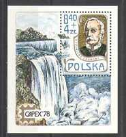 POLAND 1978 CAPEX/WATERFALL/RIVER/WATER 1V M/S  N24100