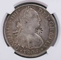 NGC XFD 1820 N.E.INDIES 1RB MADURA C/S ON MEXICO 8R SILVER