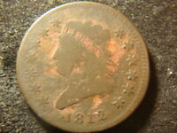 1812 SMALL DATE  CLASSIC HEAD LARGE CENT  DECENT COIN