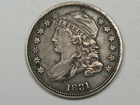 1831 US CAPPED BUST DIME.  21