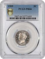 1909 5C PCGS PR 66 - LIBERTY V NICKEL