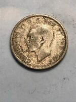 25 CENTS 1944 CANADA KING GEORGE V SILVER COIN 25C 25 QUARTE
