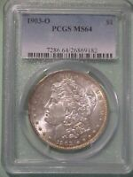 1903-O MORGAN DOLLAR PCGS MINT STATE 64